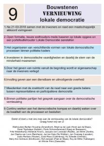 Vernieuwing Lokale democratie